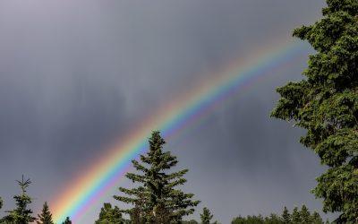 Méditation de guérison du Cristal Arc-en-ciel